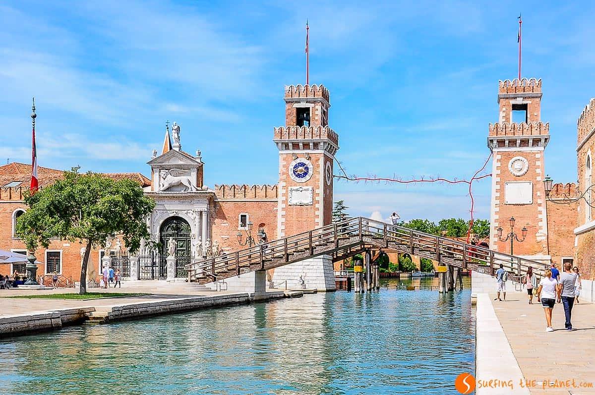 El Arsenal, Venecia, Italia | Qué hacer en Venecia en un día