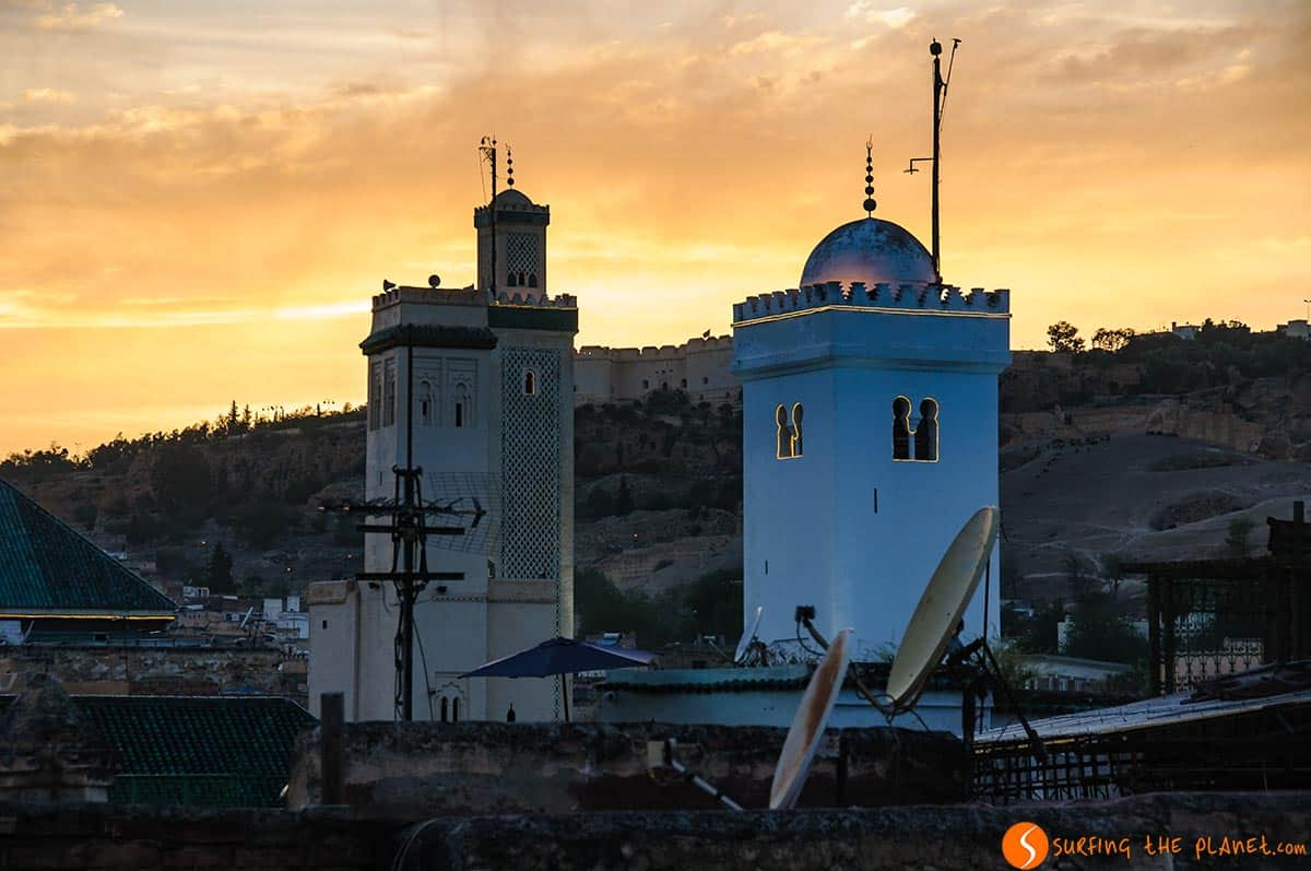 Atardecer en Fez, Marruecos