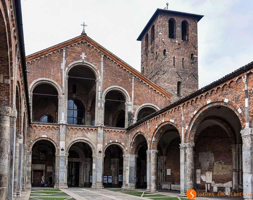 Basilica San Ambrosio, Milan, Italia | Qué ver en Milán en un día