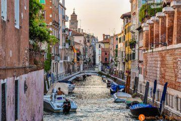 Canales, Venecia, Italia