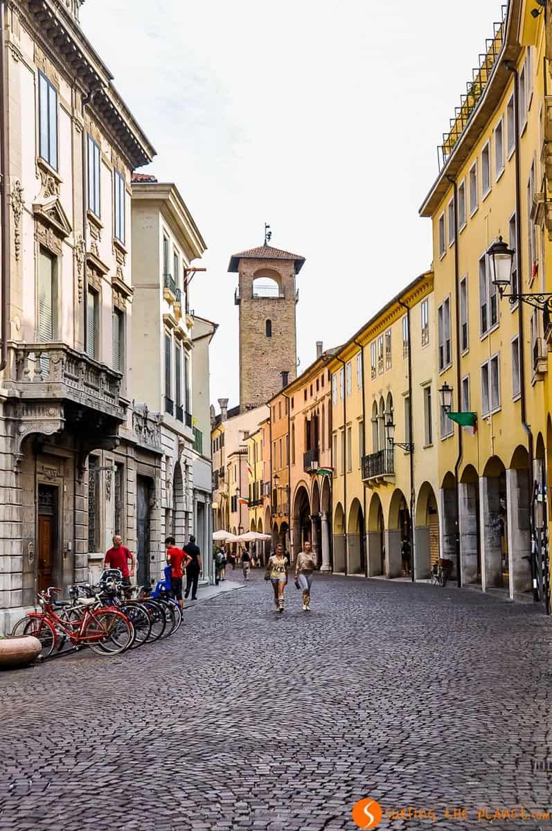 Centro storico, Padova, Italia