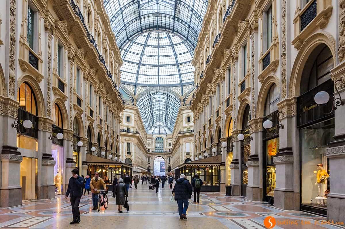 Galleria Vittorio Emanuele, Milan, Italia | Qué visitar en Milán en un día