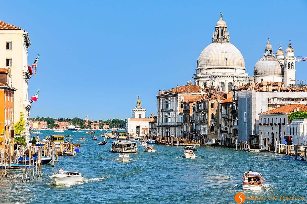 Vista de Gran Canal, Venecia, Italia |Qué visitar en el Véneto
