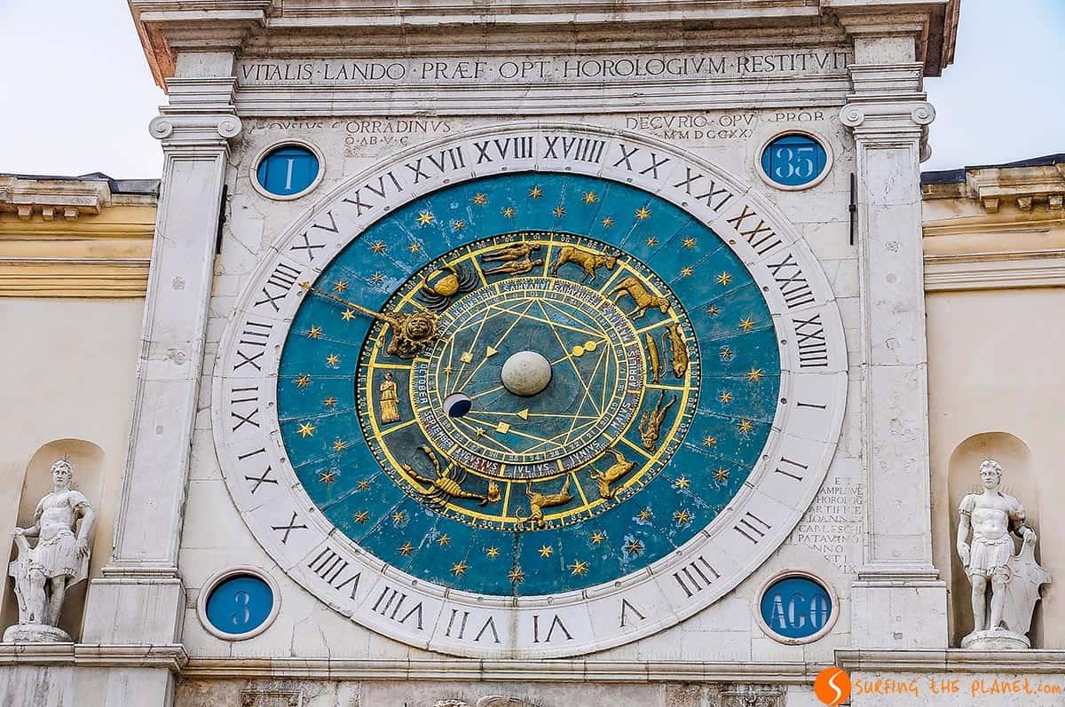 Orologio Astronomico, Piazza dei Signori, Padova, Italia | Cosa vedere a Padova