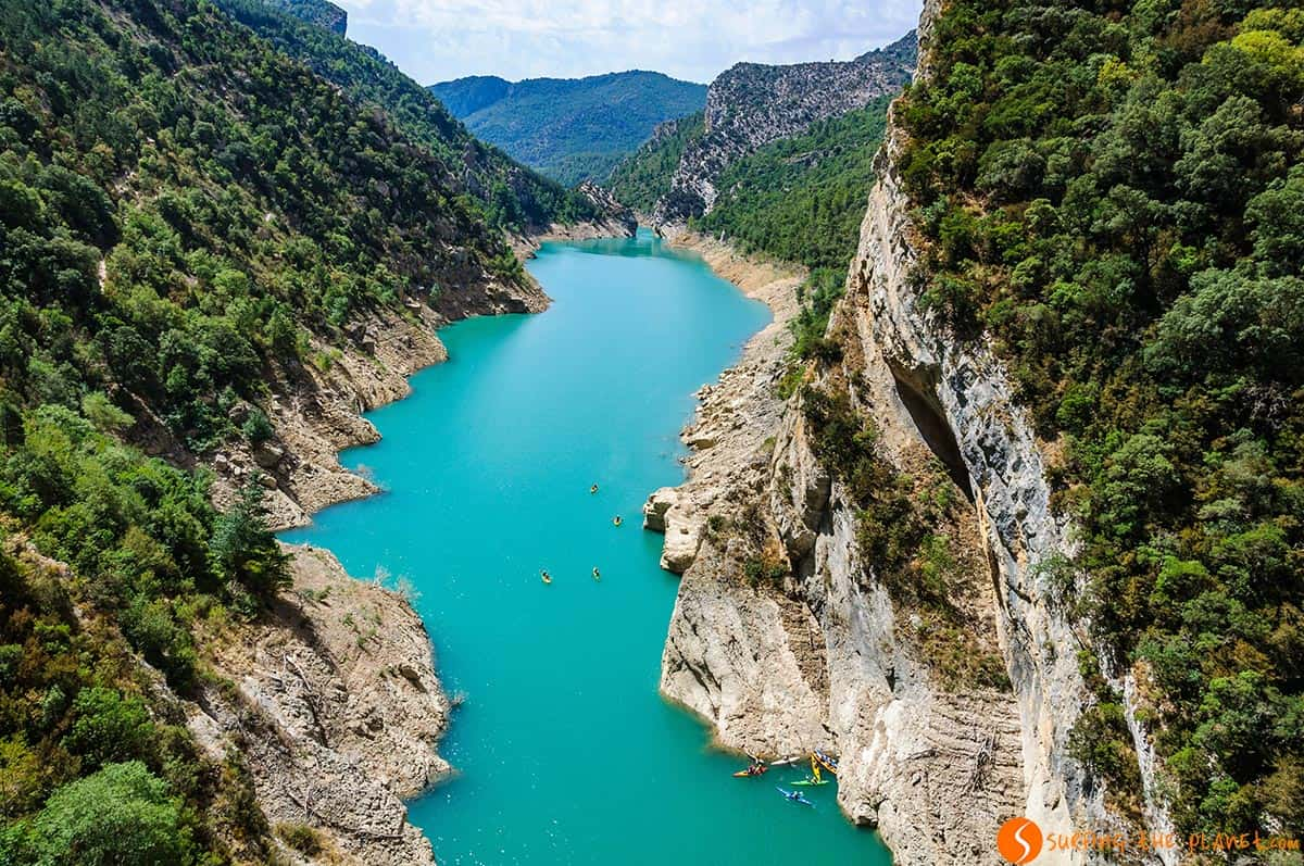 Río en el Congost de Mont-Rebei, Cataluña | Excursiones desde Barcelona