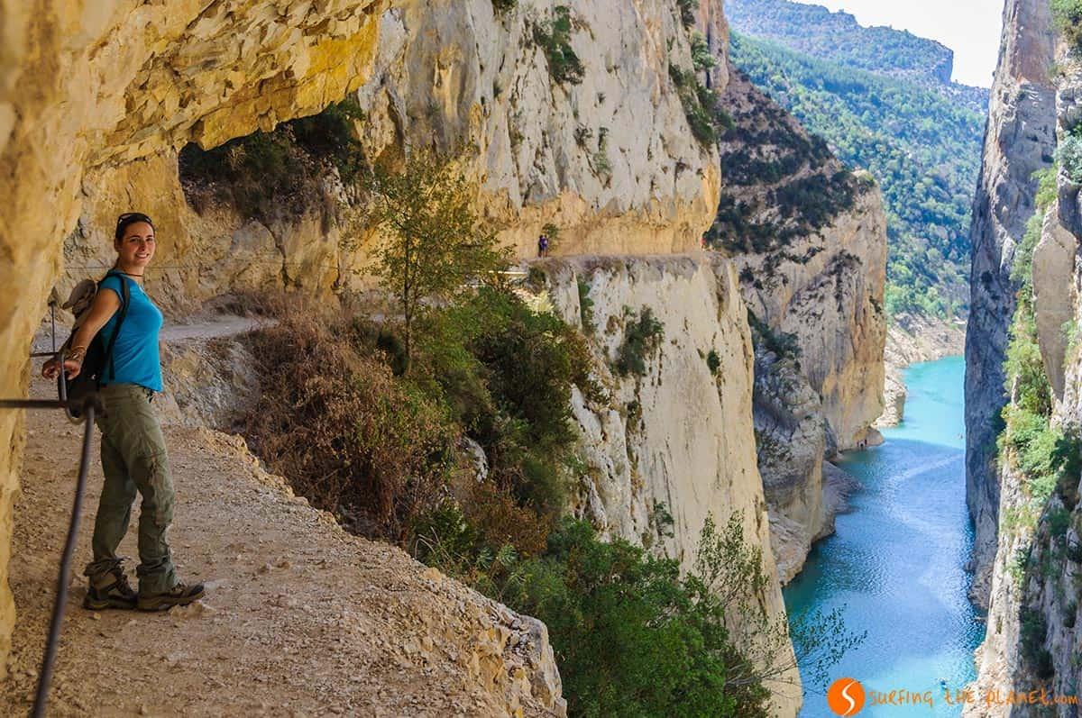 Sendero en el Congost de Mont-Rebei, Cataluña | Ruta por el Congost de Mont-rebei