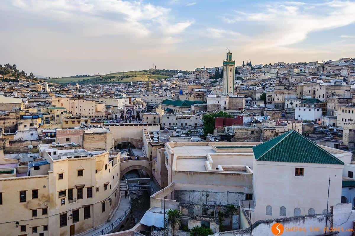 Vista de la medina, Fez, Marruecos | Qué hacer en Fez