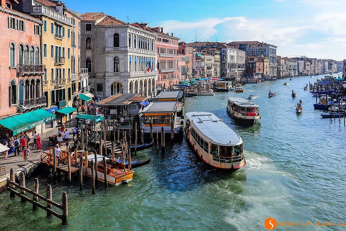 Vista de Puente del Rialto, Venecia, Italia | Qué ver y hacer en Venecia en un día
