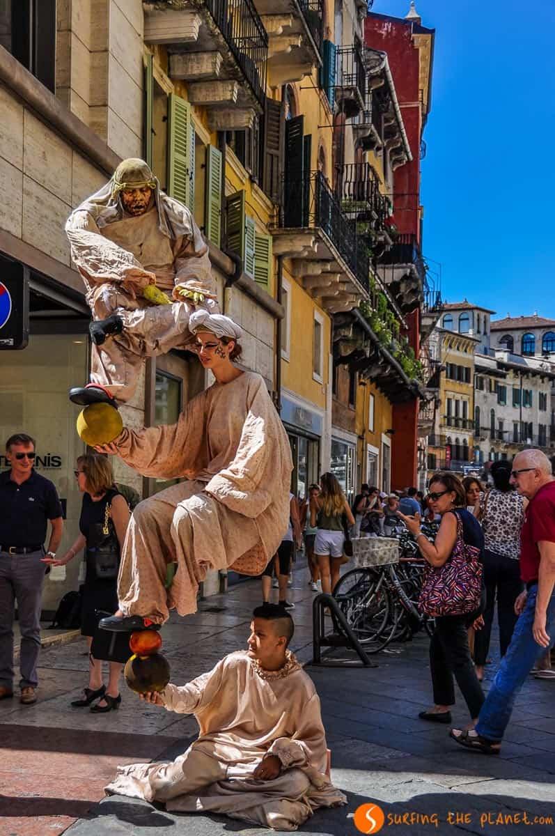 Calle Mazzini, Verona, Italia | Verona en un día