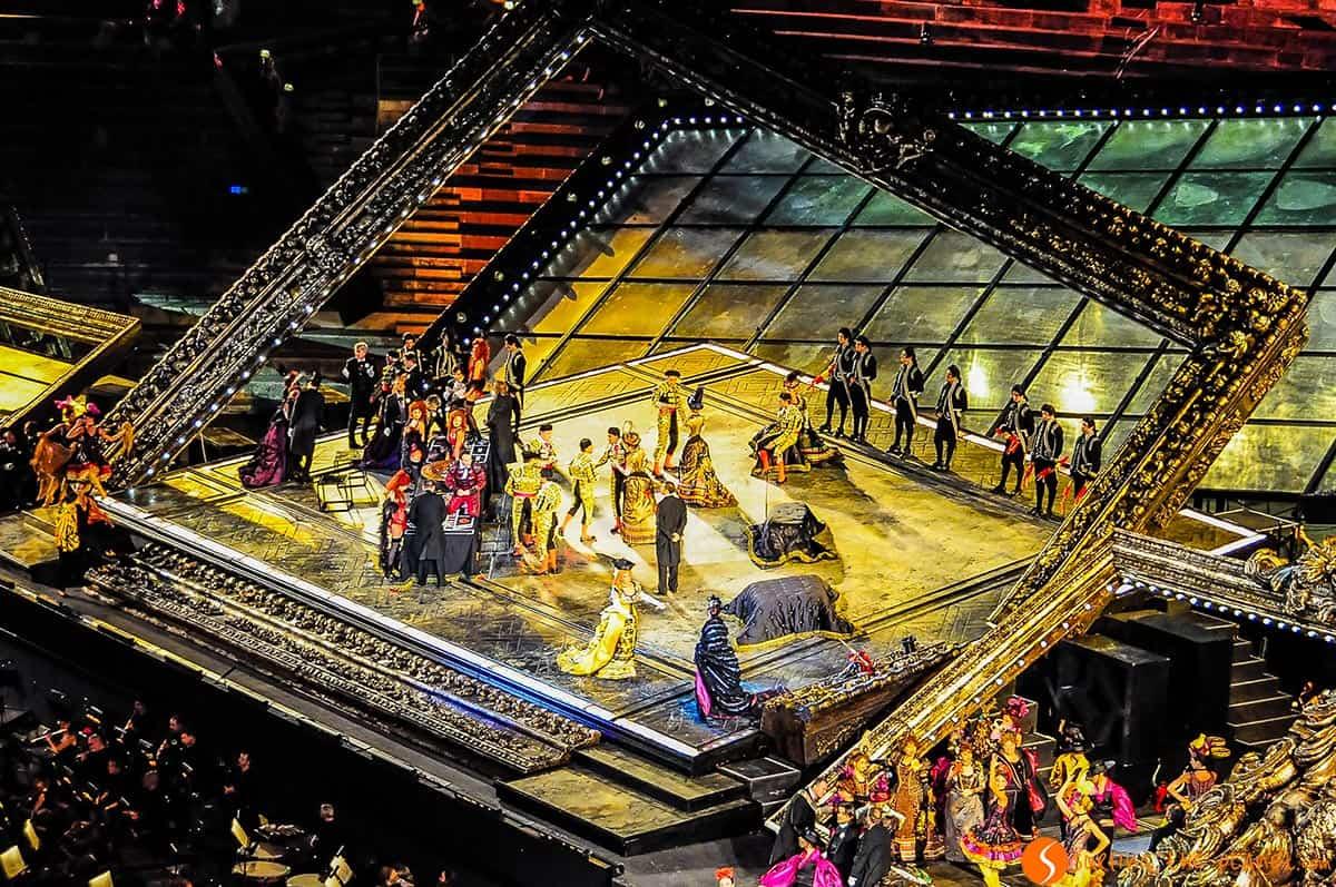 Funcion en la Arena, Verona, Italia
