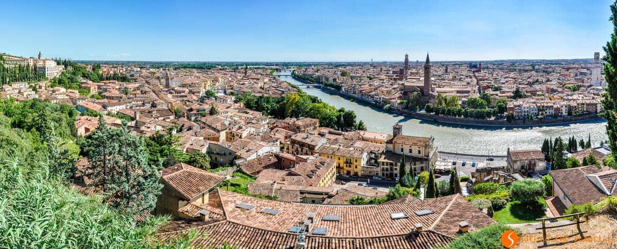 Vista Castillo, Verona, Italia