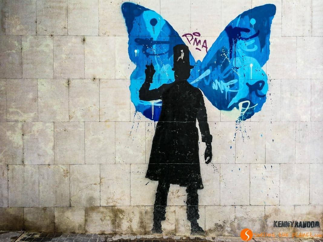 Butterfly, Muarles, Kenny Random, Padova, Italia
