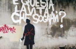 E' questa la vita che sognavi - murales Padova, Italia