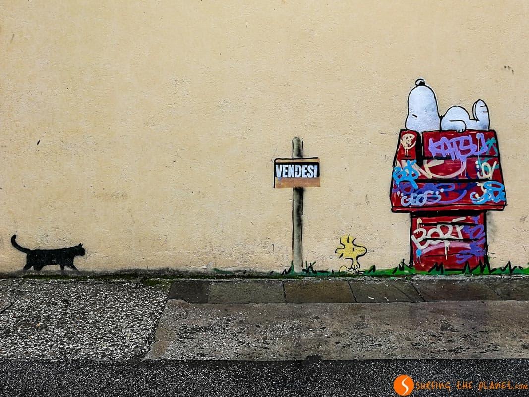 Kenny Random Snoopy, Padova, Italia | Cosa vedere a Padova