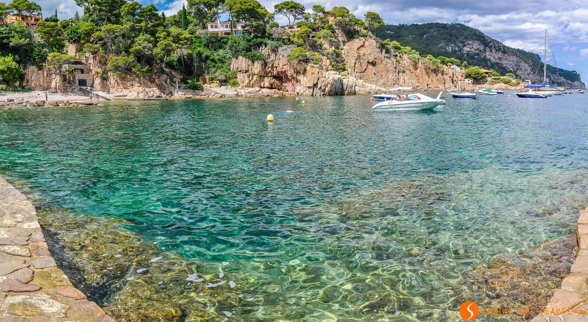 Cala Fornells, Begur, Costa Brava | Las mejores calas de Begur