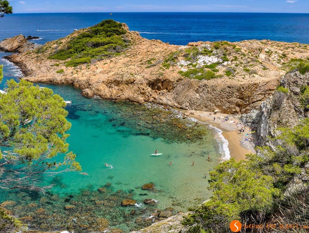 Resultado de imagen de playas de la costa brava gif
