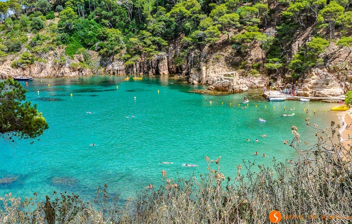 Mar en Cala Aiguablava, Begur, Costa Brava | Las mejores calas y playas de Begur