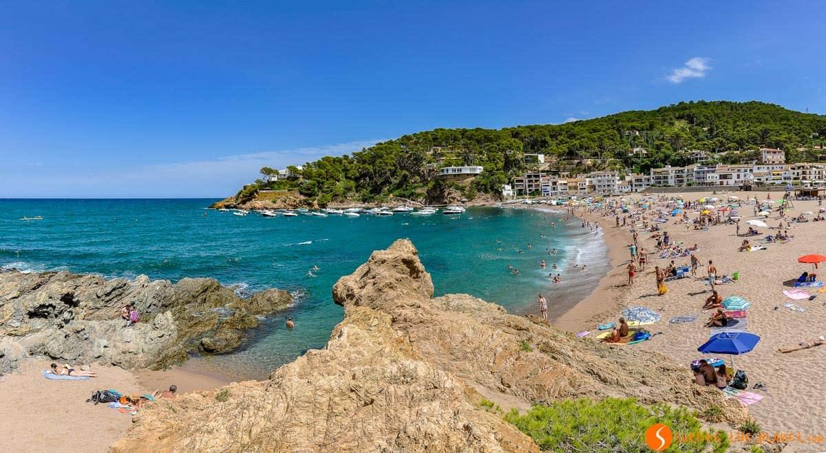 Playa Sa Riera, Begur, Costa Brava