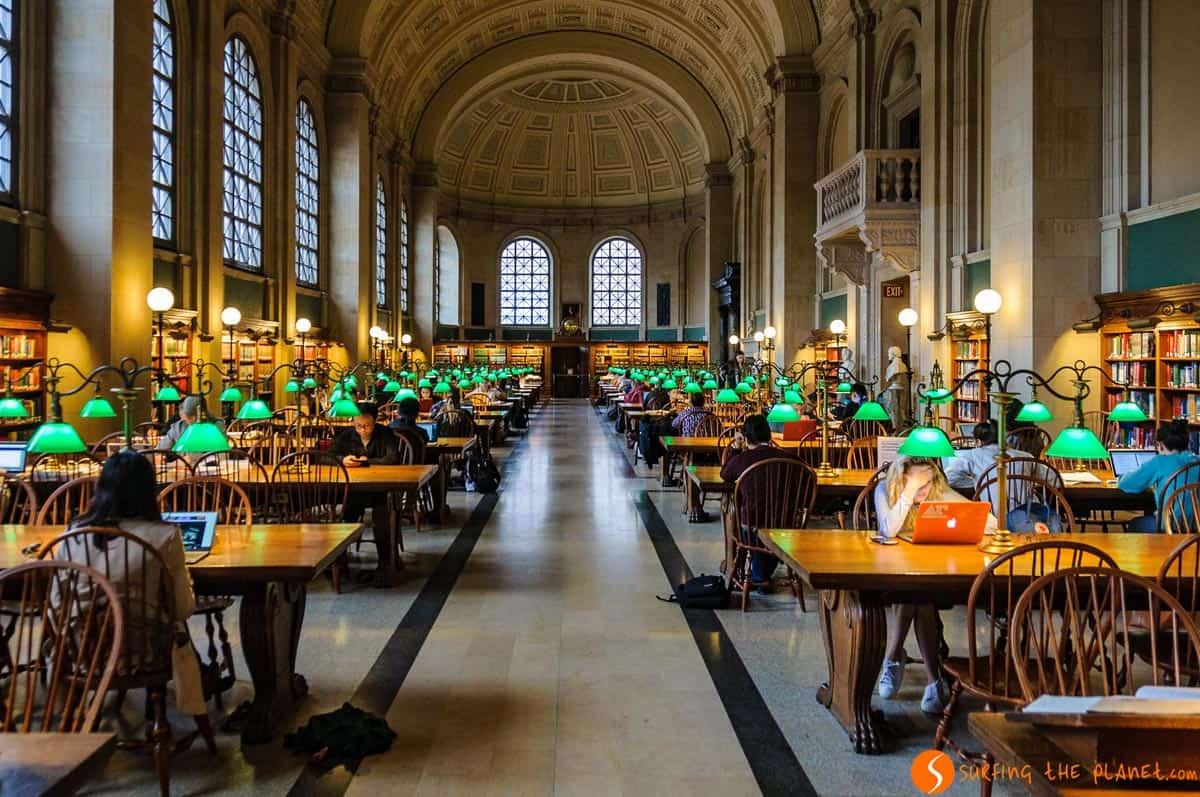 Biblioteca Pública, Boston, Estados Unidos | Qué hacer en Boston en dos días