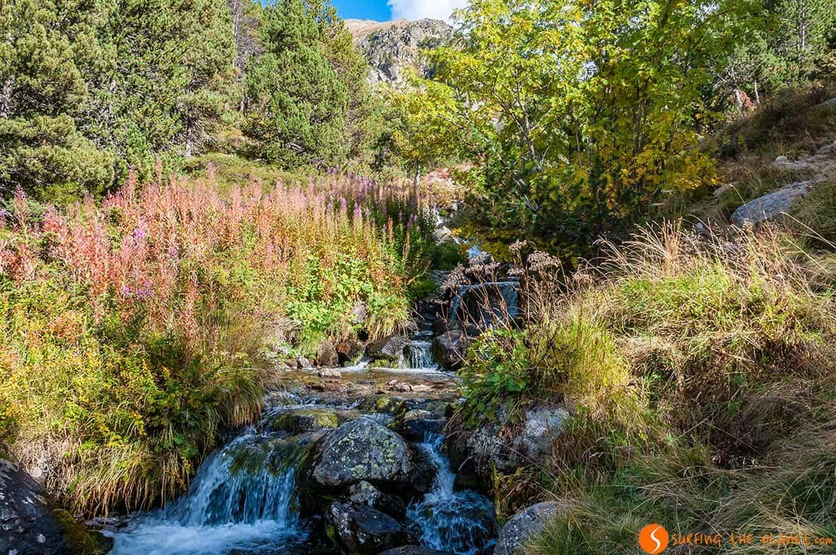 Ruta hacia Estany de Siscaró