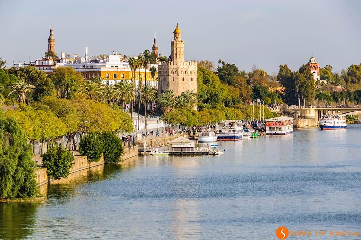 Torre de Oro, Sevilla, España