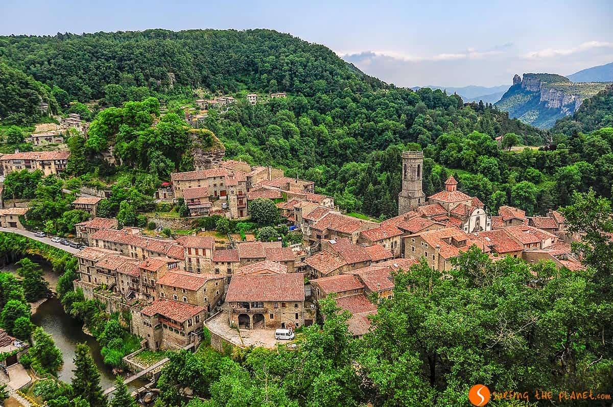 Vista de Rupit, Cataluña, España | Qué ver en Rupit y Tavertet