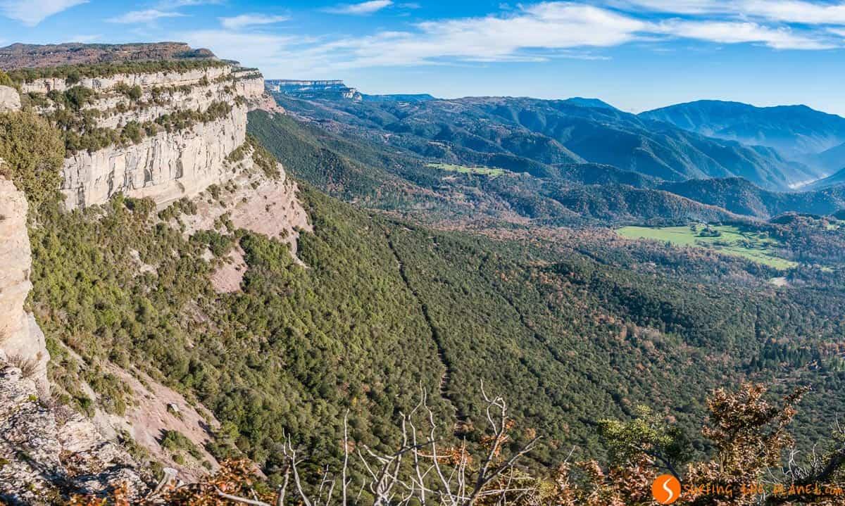 Vistas de Cingles de Tavertet, Cataluña, España | Qué ver en Tavertet