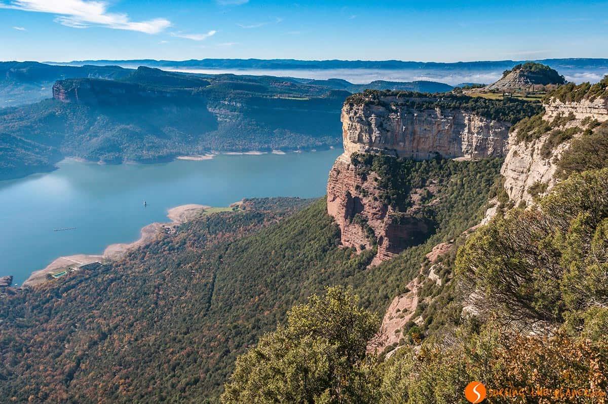 Vistas del Pantano de Sau, Tavertet, Cataluña, España | Qué ver en Tavertet y Rupit