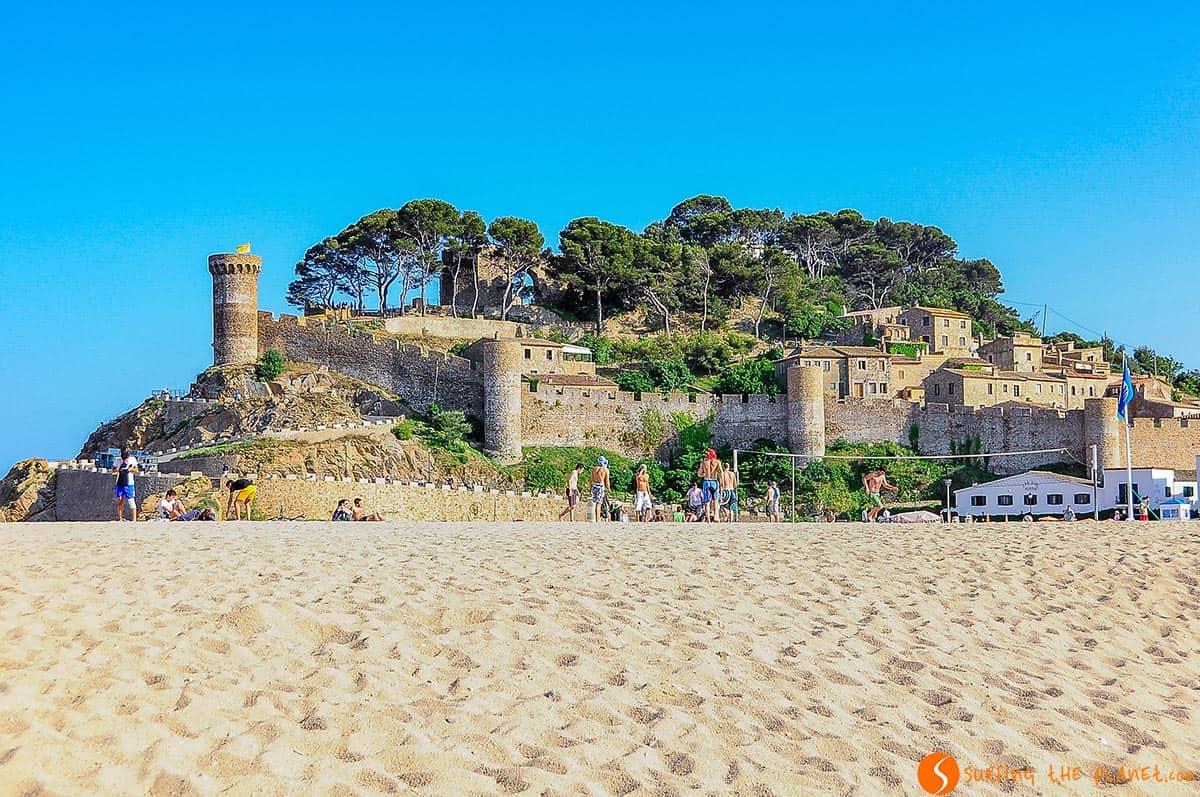 Castillo de Tossa de Mar, Costa Brava