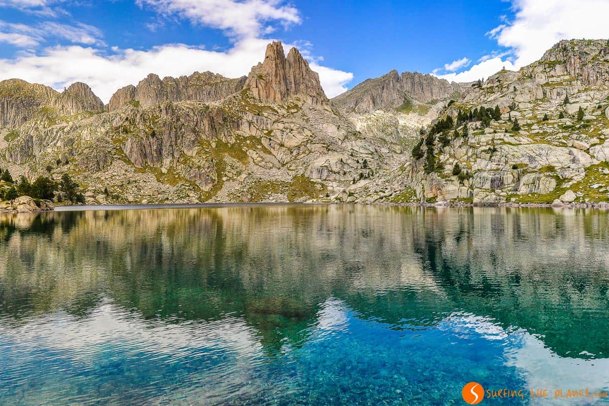 Estany Gran d'Amitges, Aigüestortes National Park, Catalonia | 3 days in the Spanish Pyrenees