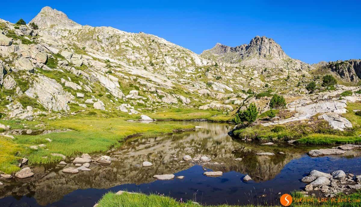 Paisaje alpino, Parque Nacional de Aigüestortes, Cataluña | Carros de Foc