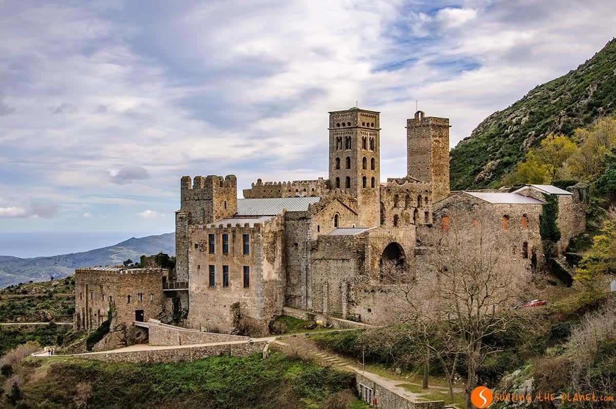 Monasterio de Sant Pere de Rodes, Costa Brava | Los 20 pueblos más hermosos de la Costa Brava