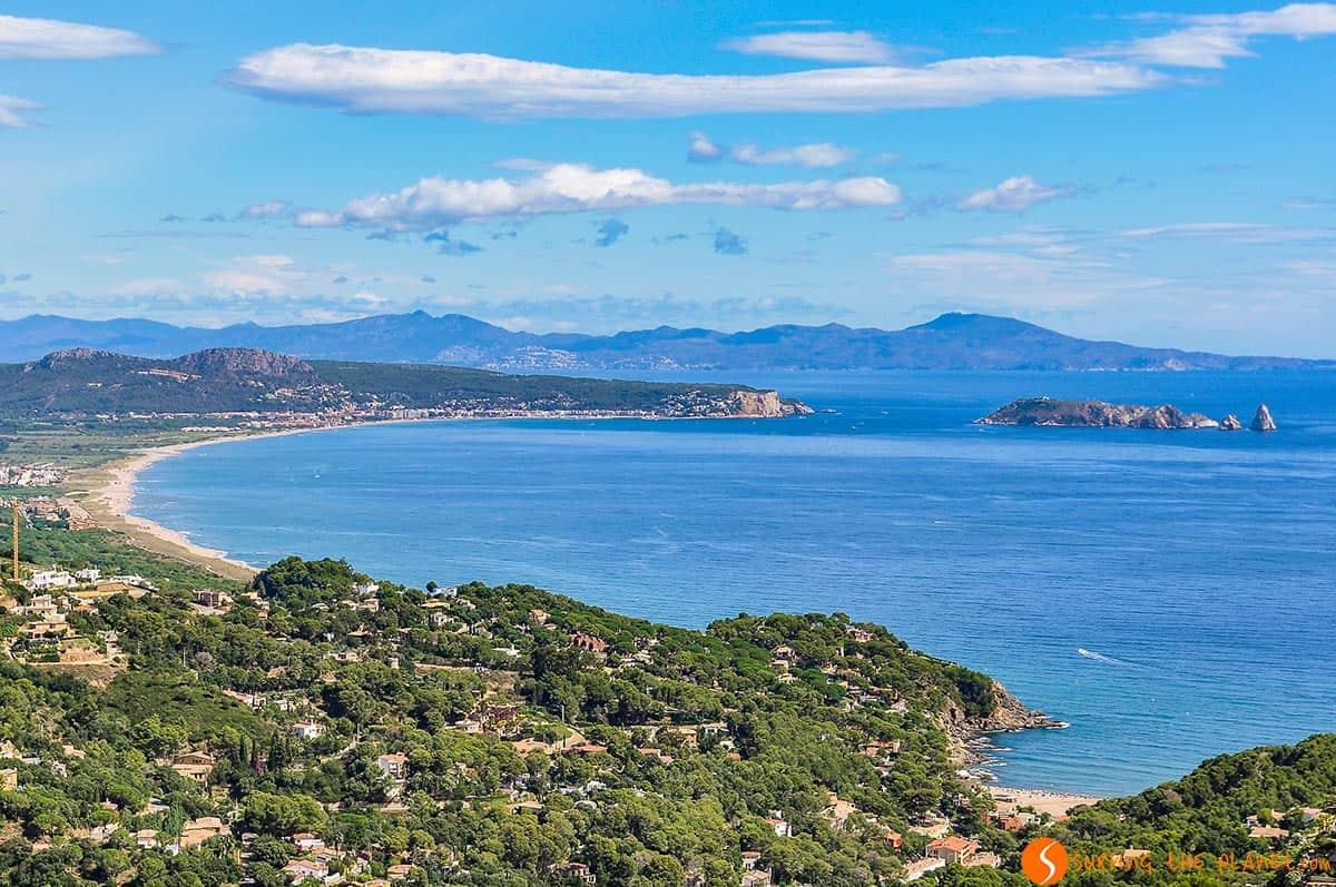 Vistas desde Begur, Costa Brava