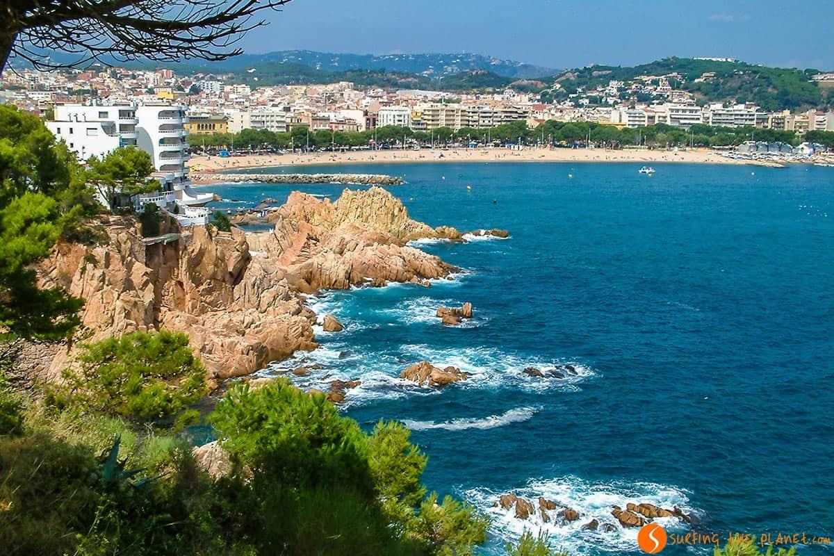Vista de Sant Feliu de Guixols, Costa Brava