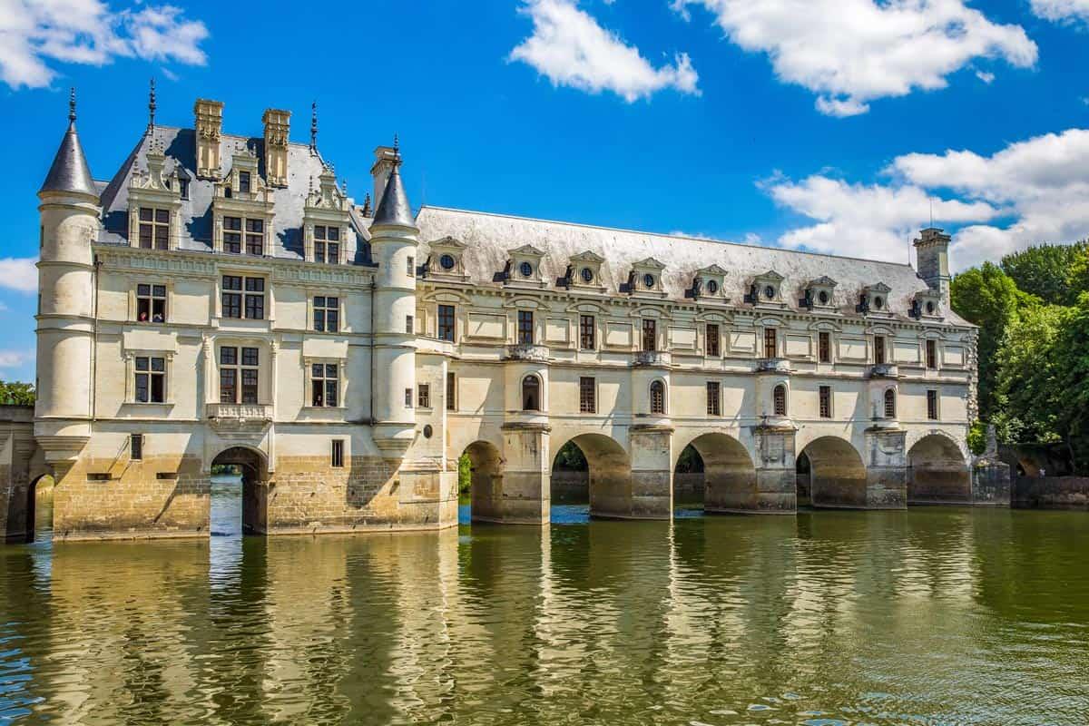 Río Cher, Castillo de Chenonceau, Valle del Loira | Ruta de los Castillos del Loira