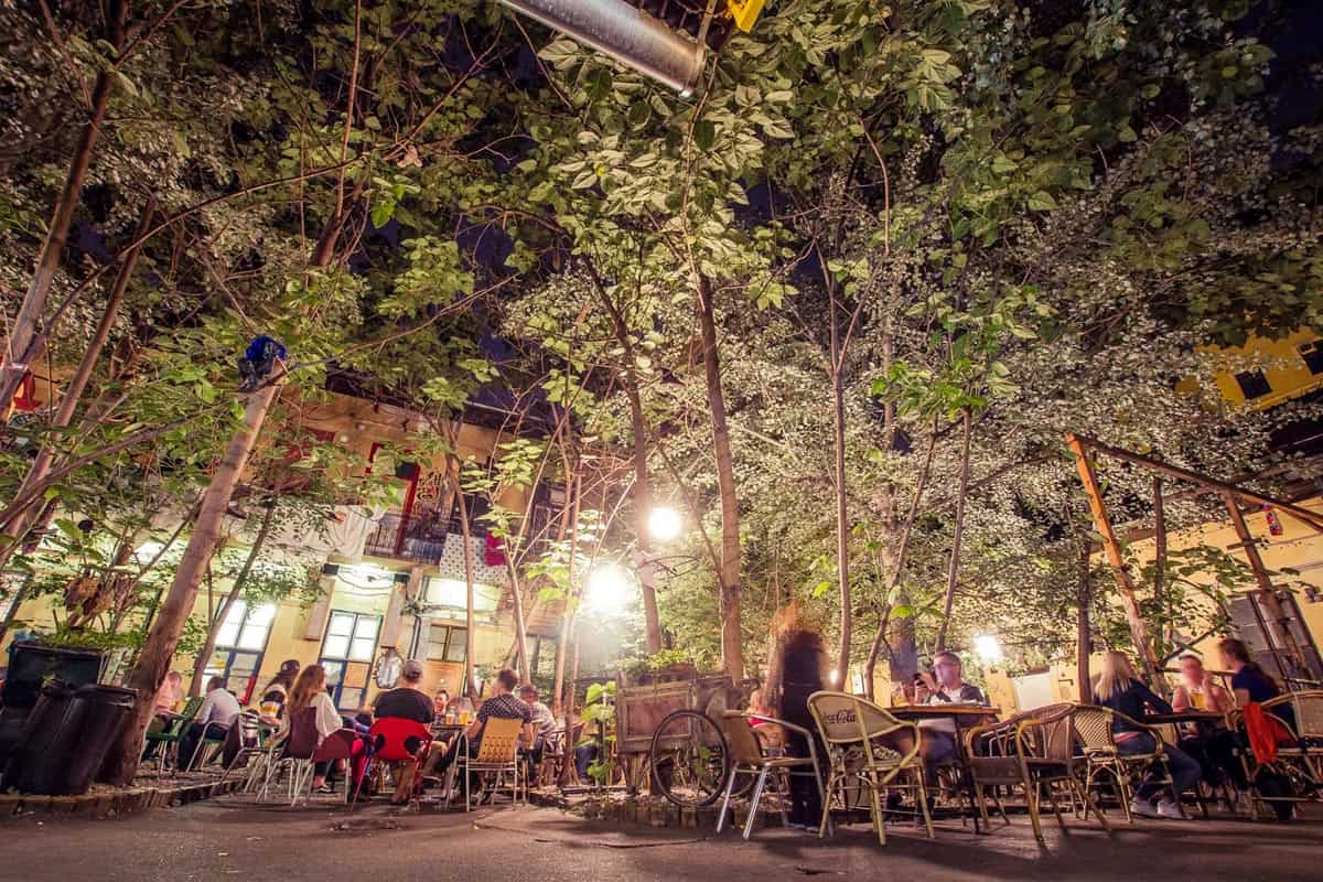 Patio, Grandio Jungle Bar, Budapest | Where to drink in Budapest