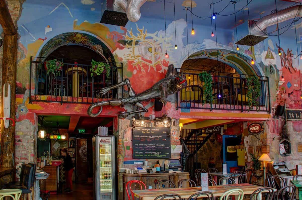 Decoración, Púder, Budapest | Ruin pubs de Budapest