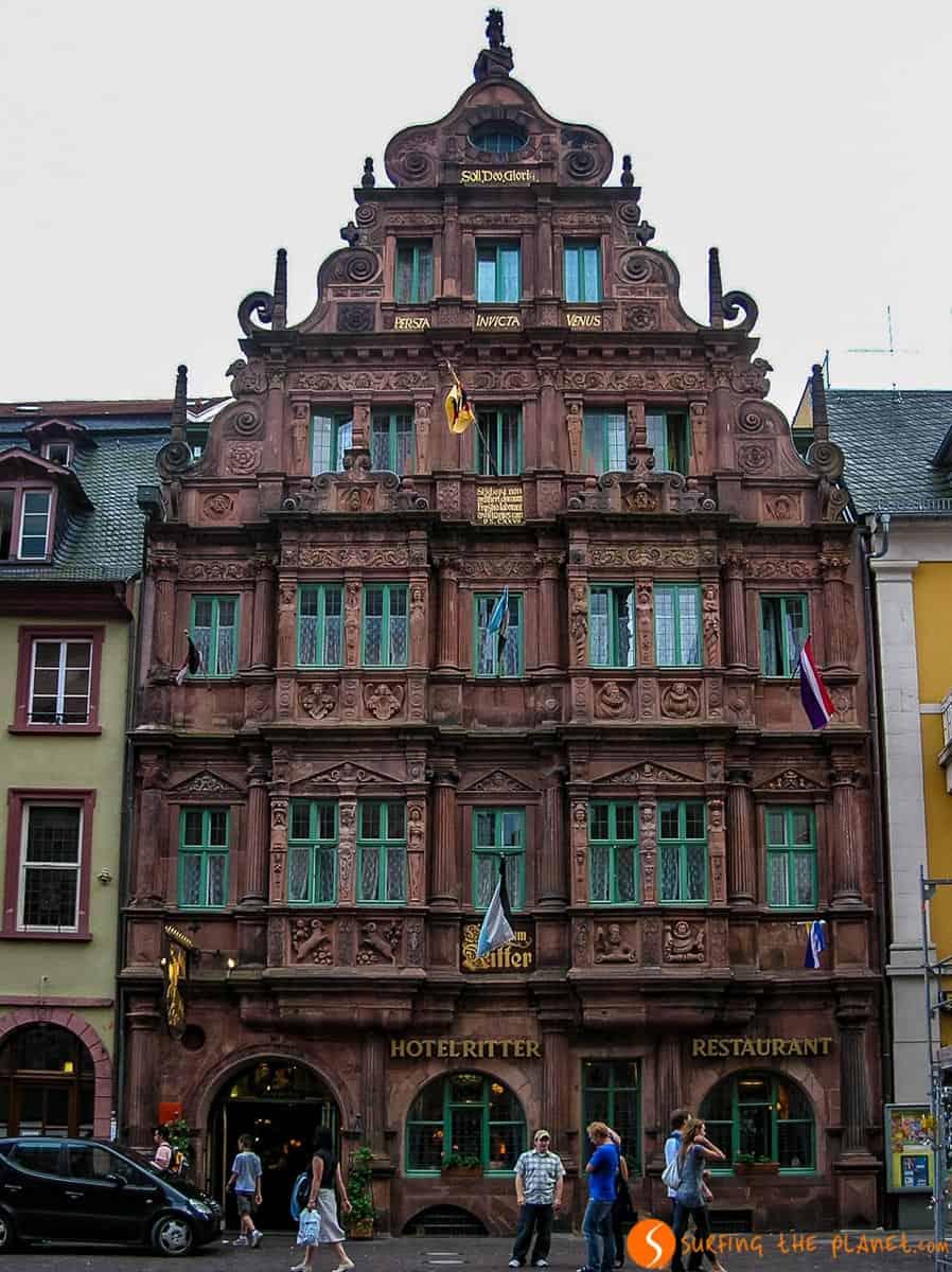 Haus Zum Ritter, Heidelberg, Germany
