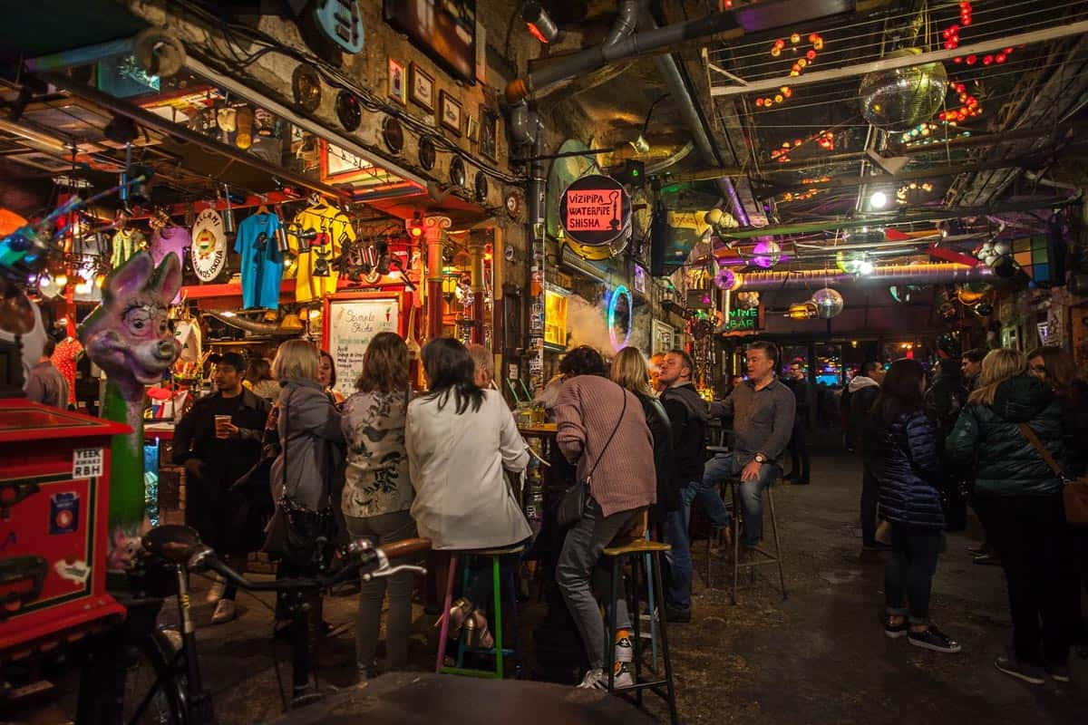 Interior, Szimpla Kert, Budapest | The 10 best ruin pubs in Budapest