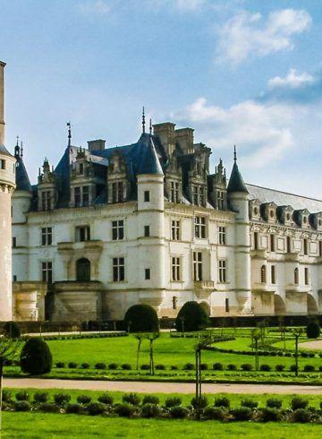 Jardín, Castillo de Chenonceau, Valle del Loira