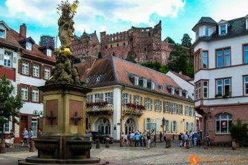Kornmarkt, Heidelberg, Alemania