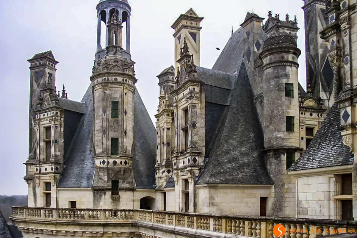 Torres, Castillo de Chambord, Valle del Loira