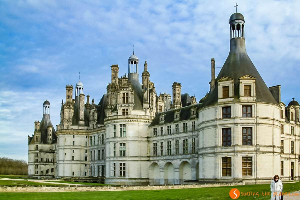 Vista Cercana, Castillo de Chambord, Valle del Loira