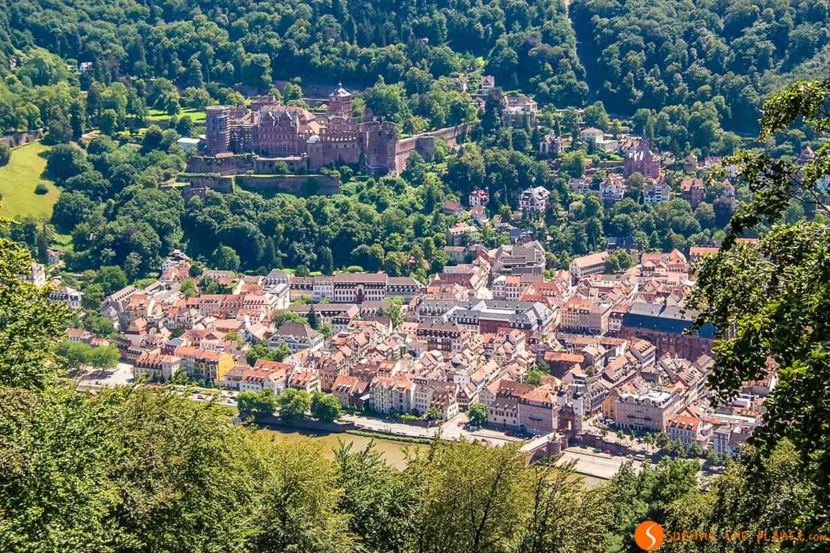Views from St. Michael Monastery, Heidelberg, Germany | What to see and go in Heidelberg in 1 day