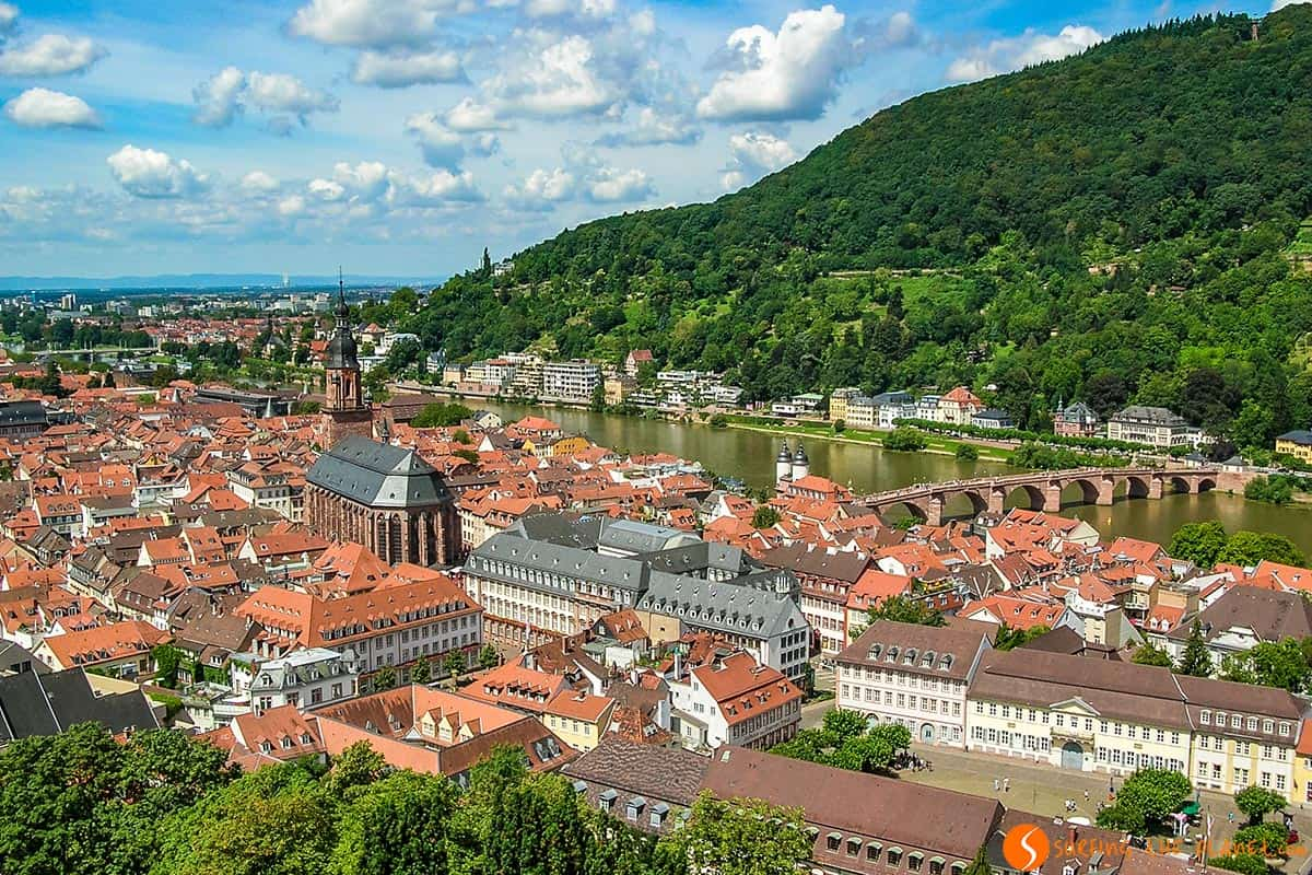 Views from the Castle, Heidelberg, Germany