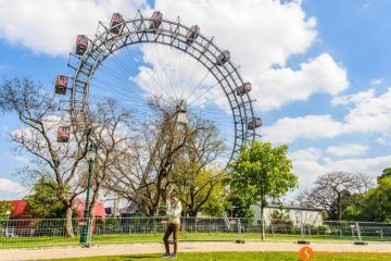 La Noria, Parque del Prater, Viena