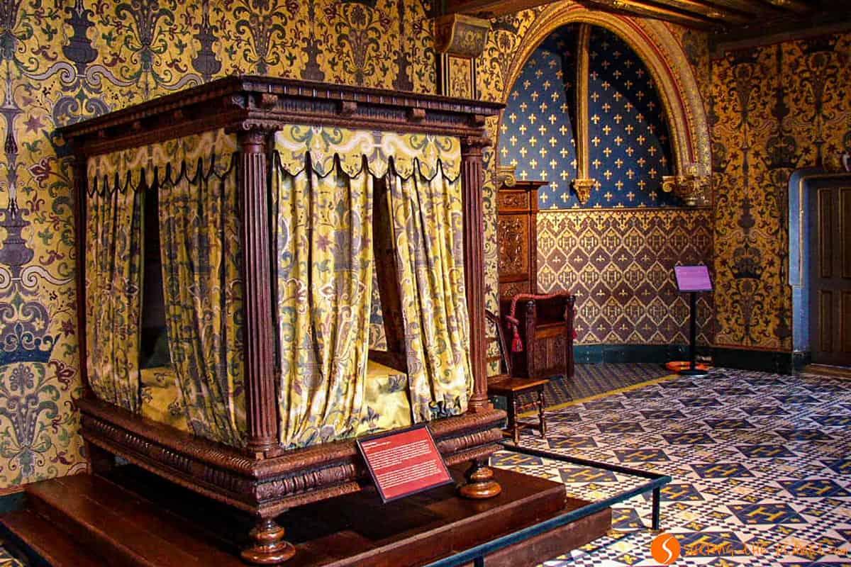 Interior, Castillo Blois, Francia
