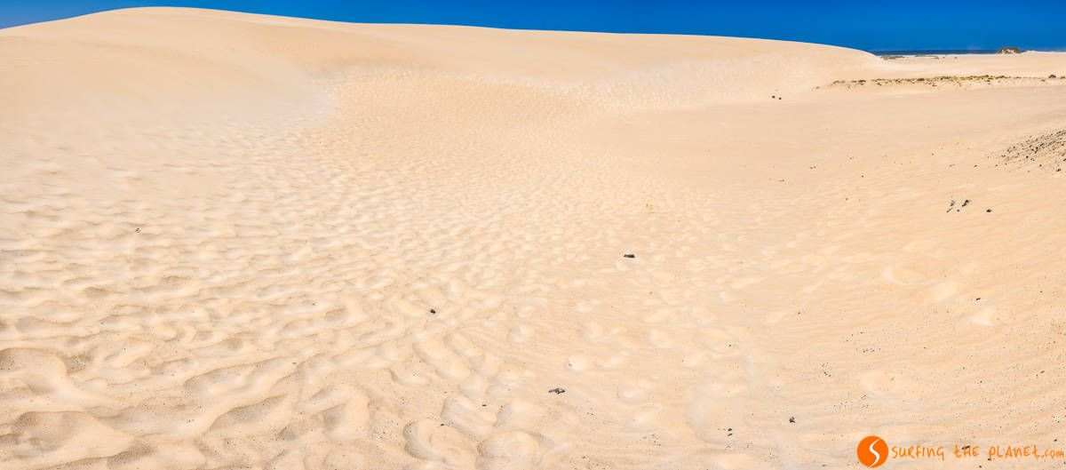 Dunes in Corralejo, Fuerteventura