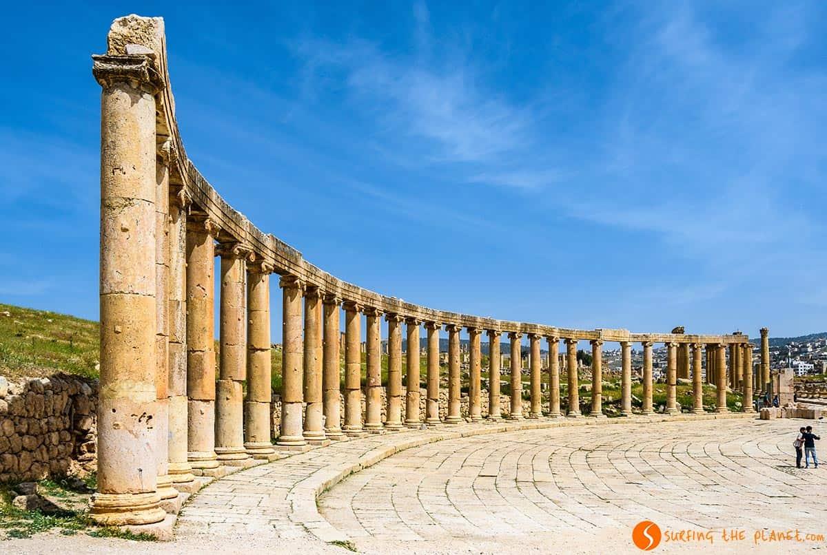 Foro, Jerash, Jordania | Excursiones desde Ammán