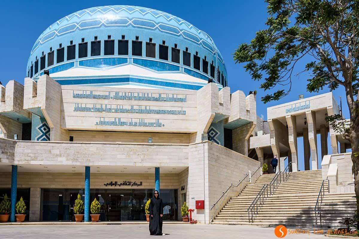 Mezquita Azul, Ammán, Jordania